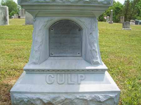 CULP, THOMAS - Trumbull County, Ohio | THOMAS CULP - Ohio Gravestone Photos