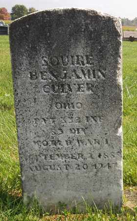 CULVER, SQUIRE BENJAMIN - Trumbull County, Ohio | SQUIRE BENJAMIN CULVER - Ohio Gravestone Photos