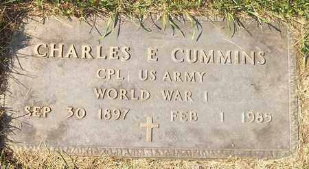 CUMMINS, CHARLES E. - Trumbull County, Ohio | CHARLES E. CUMMINS - Ohio Gravestone Photos