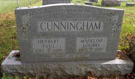 LOOMIS CUNNINGHAM, MADELINE - Trumbull County, Ohio | MADELINE LOOMIS CUNNINGHAM - Ohio Gravestone Photos