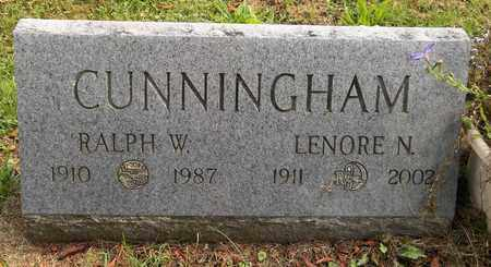 CUNNINGHAM, RALPH W. - Trumbull County, Ohio | RALPH W. CUNNINGHAM - Ohio Gravestone Photos