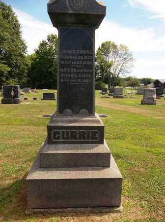 CURRIE, MARION - Trumbull County, Ohio | MARION CURRIE - Ohio Gravestone Photos