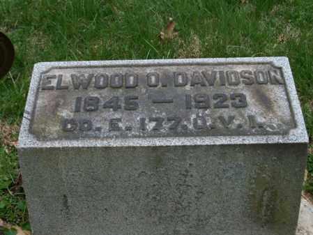 DAVIDSON, ELWOOD O, - Trumbull County, Ohio | ELWOOD O, DAVIDSON - Ohio Gravestone Photos