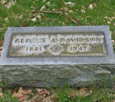 DAVIDSON, GEORGE A. - Trumbull County, Ohio | GEORGE A. DAVIDSON - Ohio Gravestone Photos