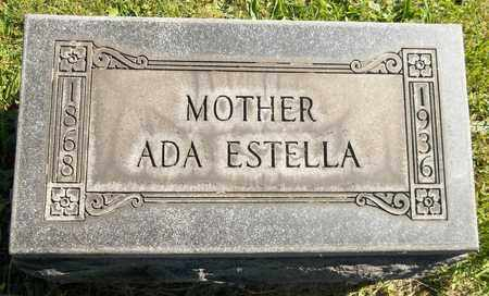 DAVIS, ADA ESTELLA - Trumbull County, Ohio | ADA ESTELLA DAVIS - Ohio Gravestone Photos
