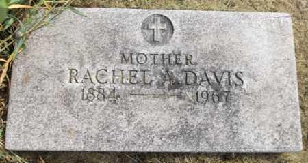 DAVIS, RACHEL A. - Trumbull County, Ohio | RACHEL A. DAVIS - Ohio Gravestone Photos