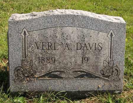 DAVIS, VERL A. - Trumbull County, Ohio | VERL A. DAVIS - Ohio Gravestone Photos