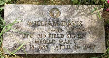 DAVIS, WILLIAM - Trumbull County, Ohio | WILLIAM DAVIS - Ohio Gravestone Photos