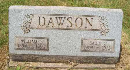 DAWSON, WILLIAM B. - Trumbull County, Ohio | WILLIAM B. DAWSON - Ohio Gravestone Photos