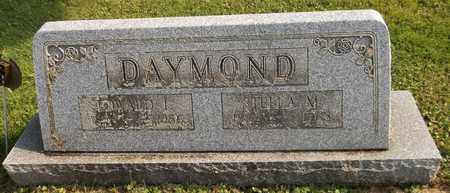 DAYMOND, EDWARD I. - Trumbull County, Ohio | EDWARD I. DAYMOND - Ohio Gravestone Photos