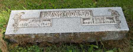 DAYMOND, ANNIE - Trumbull County, Ohio | ANNIE DAYMOND - Ohio Gravestone Photos