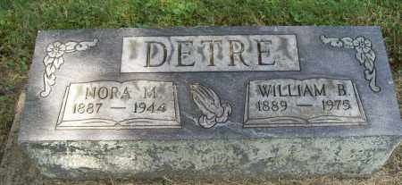 DETRE, WILLIAM B. - Trumbull County, Ohio | WILLIAM B. DETRE - Ohio Gravestone Photos