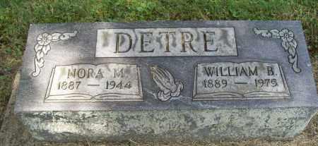 DETRE, NORA M. - Trumbull County, Ohio | NORA M. DETRE - Ohio Gravestone Photos