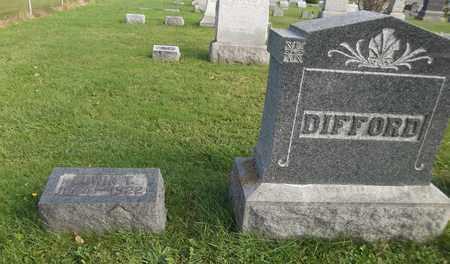 DIFFORD, EDWIN T. - Trumbull County, Ohio | EDWIN T. DIFFORD - Ohio Gravestone Photos