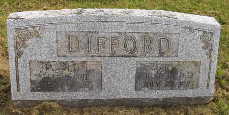 DIFFORD, MARY S. - Trumbull County, Ohio | MARY S. DIFFORD - Ohio Gravestone Photos