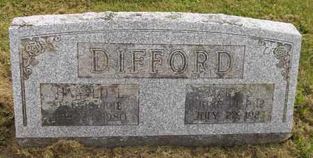 DIFFORD, HAROLD L. - Trumbull County, Ohio | HAROLD L. DIFFORD - Ohio Gravestone Photos
