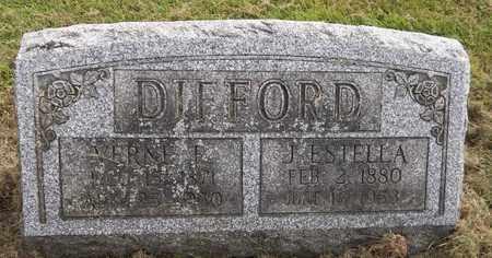 DIFFORD, VERNE E. - Trumbull County, Ohio | VERNE E. DIFFORD - Ohio Gravestone Photos