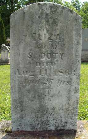DOTY, ELIZA - Trumbull County, Ohio | ELIZA DOTY - Ohio Gravestone Photos