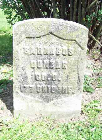 DUNBAR, BARNABAS - Trumbull County, Ohio | BARNABAS DUNBAR - Ohio Gravestone Photos