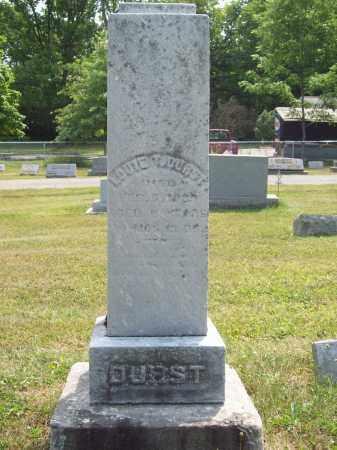 DURST, LOUIE T. - Trumbull County, Ohio | LOUIE T. DURST - Ohio Gravestone Photos