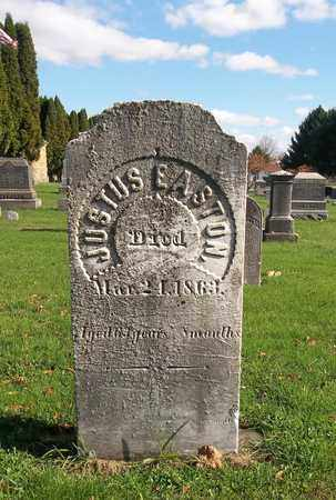 EASTON, JUSTUS - Trumbull County, Ohio | JUSTUS EASTON - Ohio Gravestone Photos