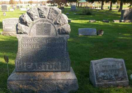 EASTON, MARTHA - Trumbull County, Ohio | MARTHA EASTON - Ohio Gravestone Photos