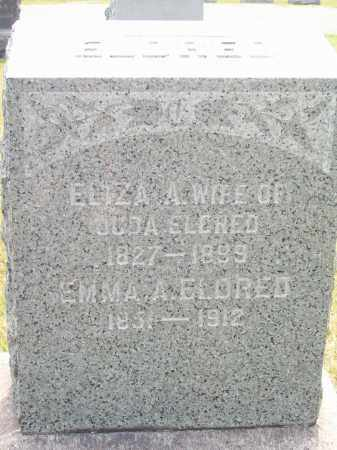 WEED ELDRED, ELIZA A. - Trumbull County, Ohio | ELIZA A. WEED ELDRED - Ohio Gravestone Photos