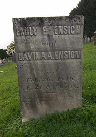 ENSIGN, EMILY E. - Trumbull County, Ohio | EMILY E. ENSIGN - Ohio Gravestone Photos