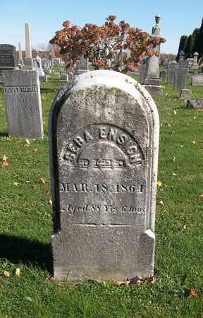 ENSIGN, SEBA - Trumbull County, Ohio | SEBA ENSIGN - Ohio Gravestone Photos