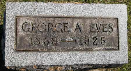 EVES, GEORGE A. - Trumbull County, Ohio | GEORGE A. EVES - Ohio Gravestone Photos