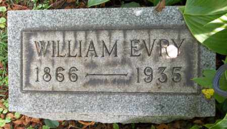 EVRY, WILLIAM - Trumbull County, Ohio | WILLIAM EVRY - Ohio Gravestone Photos