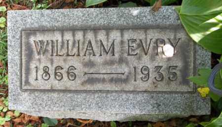 EVRY, WILLIAM - Trumbull County, Ohio | WILLIAM EVRY - Ohio Gravestone Photos
