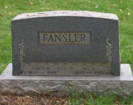 FANSLER, CAROL H. - Trumbull County, Ohio | CAROL H. FANSLER - Ohio Gravestone Photos
