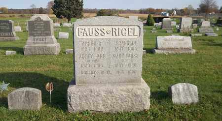 FAUSS, ABNER G. - Trumbull County, Ohio | ABNER G. FAUSS - Ohio Gravestone Photos