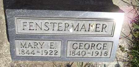 FENSTERMAKER, GEORGE - Trumbull County, Ohio | GEORGE FENSTERMAKER - Ohio Gravestone Photos