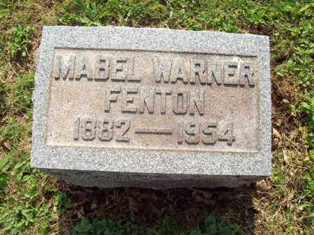 WARNER FENTON, MABEL - Trumbull County, Ohio | MABEL WARNER FENTON - Ohio Gravestone Photos