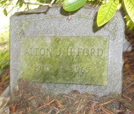 FORD, ALTON J. H. - Trumbull County, Ohio | ALTON J. H. FORD - Ohio Gravestone Photos