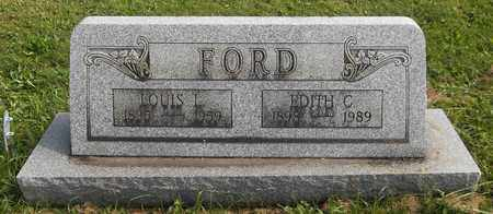 FORD, LOUIS L. - Trumbull County, Ohio | LOUIS L. FORD - Ohio Gravestone Photos