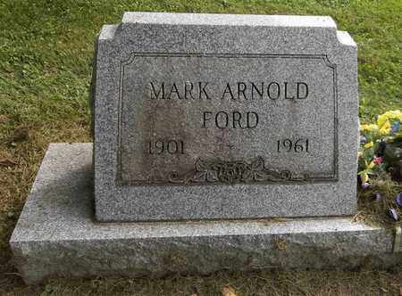 FORD, MARK ARNOLD - Trumbull County, Ohio | MARK ARNOLD FORD - Ohio Gravestone Photos