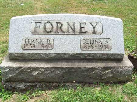 FORNEY, CELINA A. - Trumbull County, Ohio | CELINA A. FORNEY - Ohio Gravestone Photos