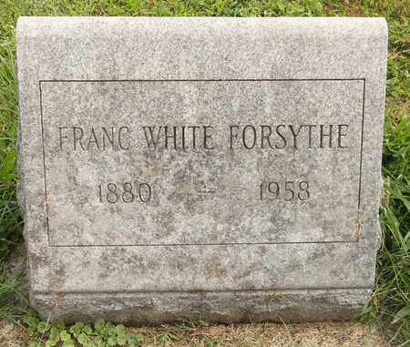 WHITE FORSYTHE, FRANC - Trumbull County, Ohio | FRANC WHITE FORSYTHE - Ohio Gravestone Photos