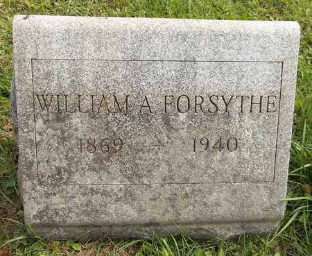 FORSYTHE, WILLIAM A. - Trumbull County, Ohio | WILLIAM A. FORSYTHE - Ohio Gravestone Photos