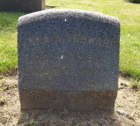 FORWARD, ANNA A. - Trumbull County, Ohio | ANNA A. FORWARD - Ohio Gravestone Photos