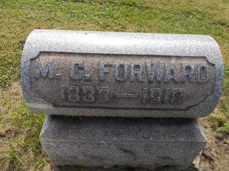 SIGLER FORWARD, MARIA C. - Trumbull County, Ohio | MARIA C. SIGLER FORWARD - Ohio Gravestone Photos