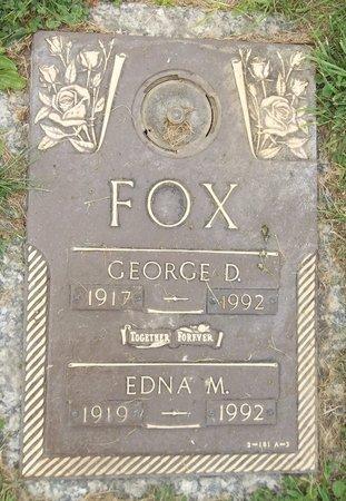 FOX, GEORGE D. - Trumbull County, Ohio   GEORGE D. FOX - Ohio Gravestone Photos
