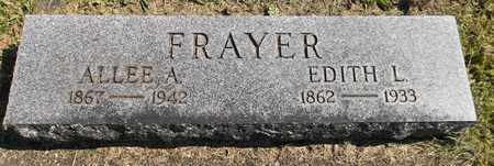 FRAYER, EDITH L. - Trumbull County, Ohio | EDITH L. FRAYER - Ohio Gravestone Photos