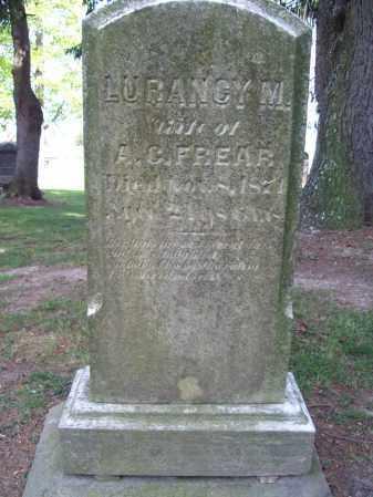 FREAR, LURANCY M. - Trumbull County, Ohio | LURANCY M. FREAR - Ohio Gravestone Photos