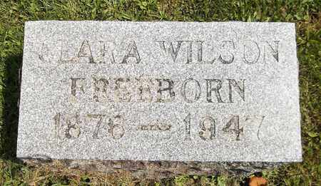 FREEBORN, CLARA - Trumbull County, Ohio | CLARA FREEBORN - Ohio Gravestone Photos