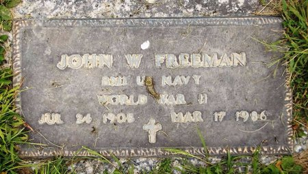 FREEMAN, JOHN W. - Trumbull County, Ohio | JOHN W. FREEMAN - Ohio Gravestone Photos