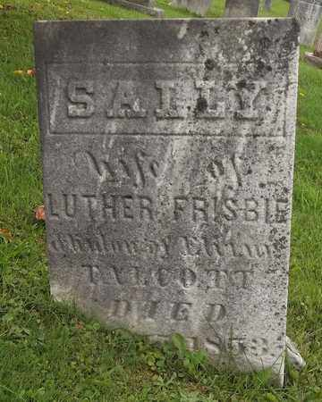 TALCOTT FRISBIE, SALLY - Trumbull County, Ohio | SALLY TALCOTT FRISBIE - Ohio Gravestone Photos